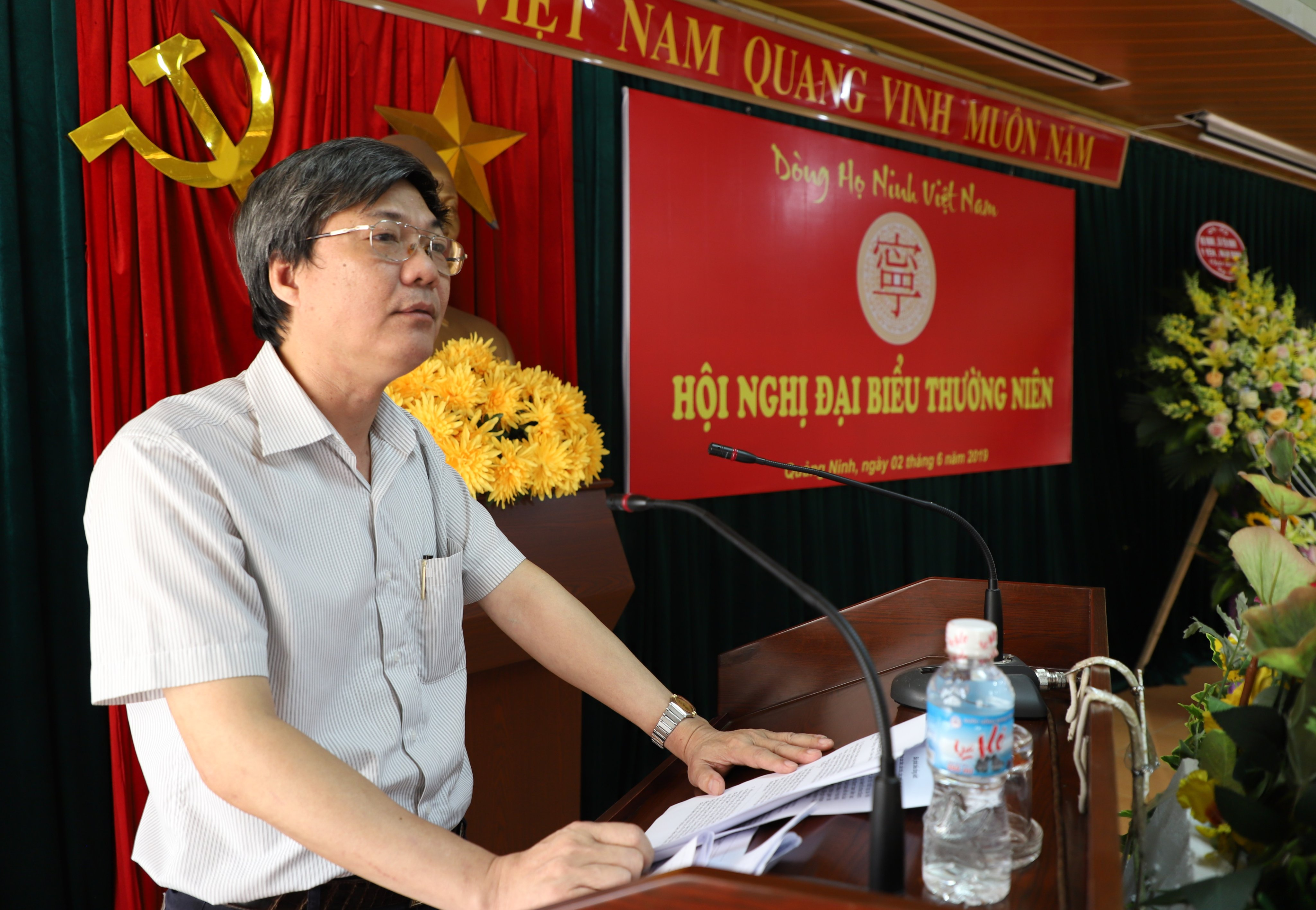 Ban liên lạc dòng họ Ninh Trưởng ban Ninh Văn Hiến